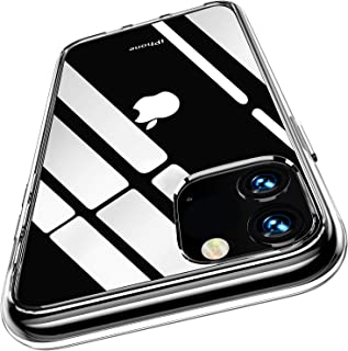 BOXTER iPhone 11 (6.1) Slim Clear Case - PC TPU Premium Shock Absorption, Anti-Scratch, Hybrid Protective Cover Basic Accessories Support Wireless Charging IX XI 2019