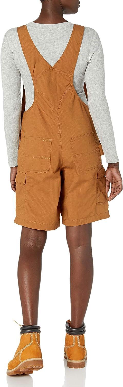 Carhartt Womens Force Cargo Shortall Work Utility Shorts