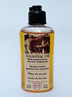 Anointing Oil with Frankincense Myrrh Spikenard Authentic Fragrance 120 Ml