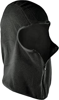 ZANheadgear Black Micro-Fleece Balaclava with Zipper