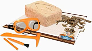 Uncle Milton Dr. Steve Hunters Paleo Expedition Dino Dig Excavation Kit Scientific Educational Toy