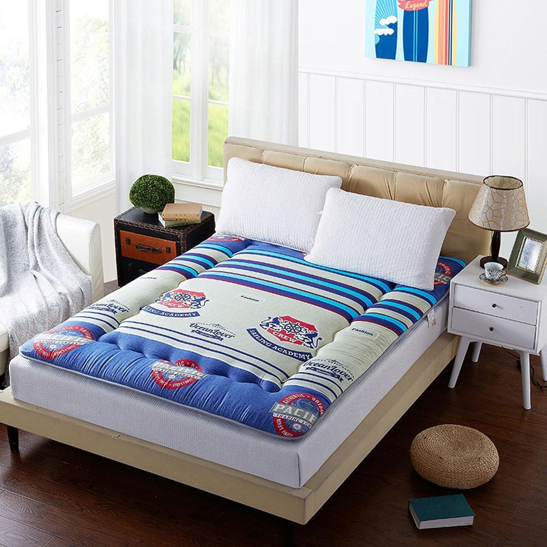 Thicken Warm Mattress,Tatami Double Sleeping Pad Sanding Scorpion for Hotel-C 90x200cm(35x79inch)