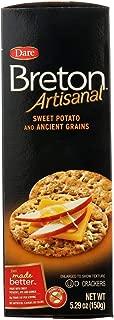 Dare Breton Crackers Artisanal Sweet Potato Crackers (6x5.29 OZ)