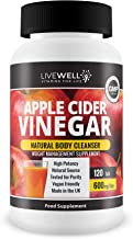 Apple Cider Vinegar LiveWell 120 Tablets – Weight Management Supplement – Detox Weight Loss – Improves Digestion – GMP Quality Estimated Price : £ 9,99