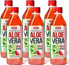 OKF Aloe Vera Watermelon Drink, 16.9 Ounce (10 Pack)