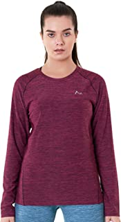 Women's Long Sleeve Quick Dry T-Shirts for Yoga, Running, Training & Gym