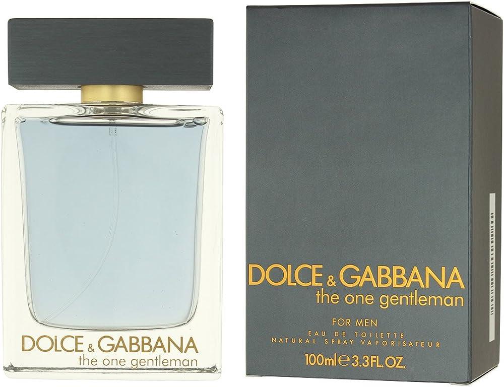 Dolce & gabbana the one gentleman 100ml eau de toilette DG33M