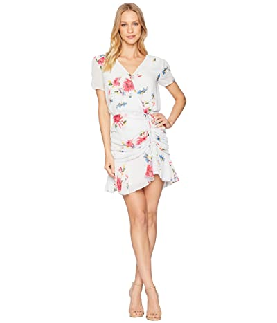 ASTR the Label Natasha Dress (Ice Blue Multi Floral) Women