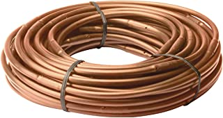 "Rain Bird ET256-50S Drip Irrigation Pressure Compensating 1/4"" Emitter Tubing, 6"" Emitter Spacing, 50 Roll, Brown"