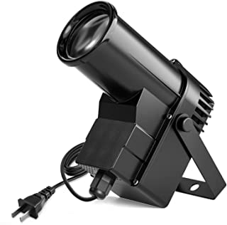 Donner Spotlight Stage Effect Pinspot LED Light DL-5 10W 6CH RGBW Auto/DMX DJ Lightning Control