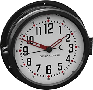 sweeping second hand clock