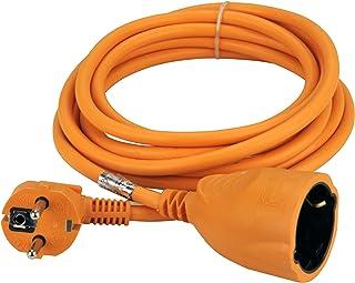 UNITEC 44583 Schuko-Verlängerung, H05VV-F 3G1.5 mm², 3 m, orange
