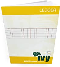 Ivy - Ledger Book Keeping Book - Double Entry - A4-32 Page – 80gsm