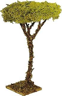 2 árboles, 86565, 12 cm para construcción de maquetas, guarderías y para casa