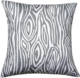 Pillows Decorative Throw Pillows 18 x 18 Throw Pillow Covers for Couch Pillows Decorative Pillows - Gray Throw Pillows Faux Bois One Pillow Cover