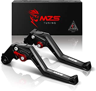 MZS rosso frizione freno corto Leve per Triumph Speed Triple 1997-2003,Speed Four 2003-2004,Srint ST 1997-2003,Sprint RS 1999-2003,Daytona 955i 1997-2003,TT 600 2000-2003