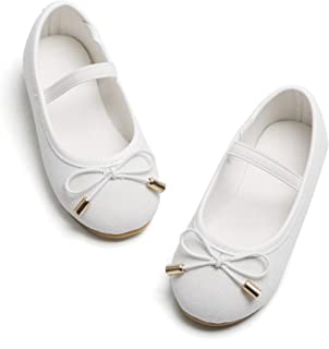 Girls Flat Mary Jane Shoes Slip-on School Party Dress...