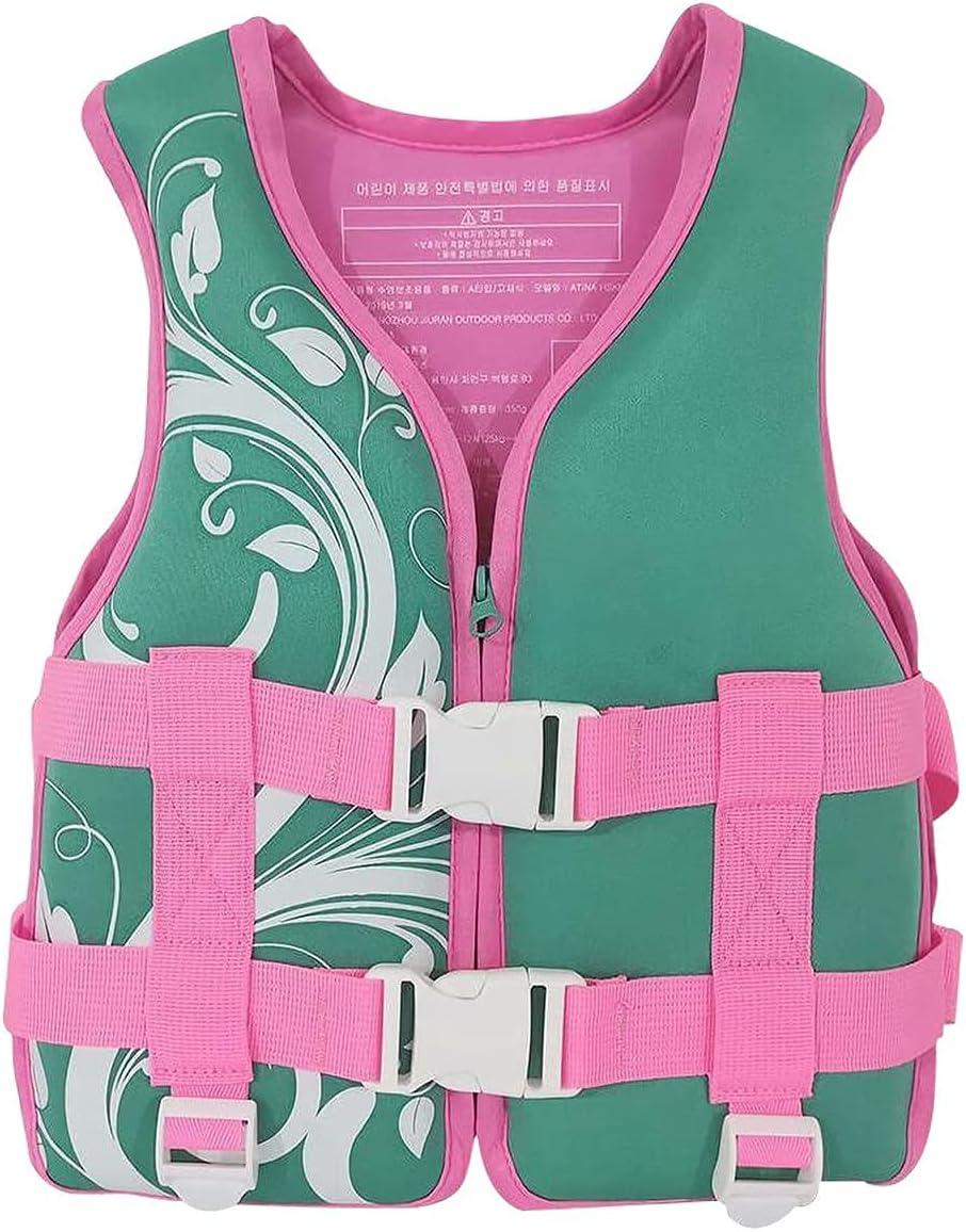 DLRBDMM Kids Swim Vest for Swimming Girls Boys Youth Mesa Mall Safety free