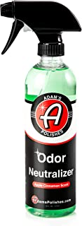 Adam's Odor Neutralizer - Specially Formulated Air Freshener That Eliminates Harmful Odors from Car Interior Accessories, Leather Seats, Carpet Upholstery, Pet Odors (Apple Cinnamon Scent)