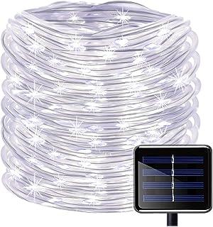 Guirnalda de Luces Solares,KINGCOO 23ft 50LED Impermeable