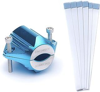 KIMO DIRECT Waterontharder met 6 Teststrips - Waterontharder - Huishouden tot 6 personen - Waterfilter - 7500 Gauss - Blauw