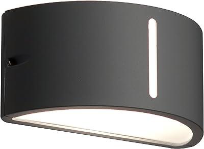 Eco Light Lámpara de pared E27, antracita: Amazon.es: Iluminación
