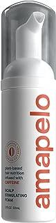 Amapelo Caffeine Hair Growth Foam - Thickening NON Minoxidil Foam for Hair Loss and Hair Regrowth, Topical Treatment for Thinning Hair 1.7 fl.oz. Bottle.