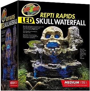 Zoo Med Repti Rapids LED Skull Waterfall
