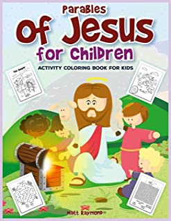 Parables of Jesus for Children: Activity Coloring Book for Kids