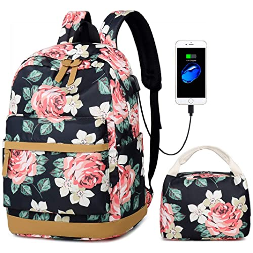 ec9ab81b8a Netchain 2 Packs Canvas Stripe Backpack fits 15.6