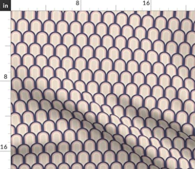 My Kind Of Math by nouveau/_bohemian Mathematic Cotton Sateen Circle Tablecloth by Spoonflower Geometric Round Tablecloth