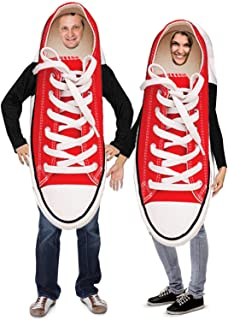 Couples Costumes – Novelty Sneaker Costume – Funny Adult Halloween Costumes – 2 Pc