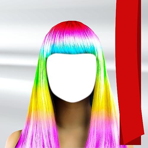 Color de peinado de la cámara de fotos