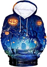 WILLBE Women Halloween Sweatshirt, Hoodie Sweatshirt Pullover Tops Hoodied Hoodie Outwear Halloween Blouse Hooded Shirts