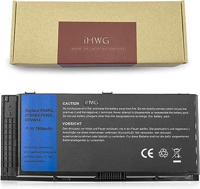 iHWG FV993 Hochleistung Batterie f r Dell Precision M4600 M4700 M4800 M6600 M6700 M6800 Serie Kompatibel FV993 FJJ4W PG6RC V7M28 11 1V 7800mAh Schätzpreis : 53,99 €