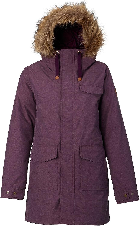 Burton Women's Merriland Jacket, Faded Heather, Large