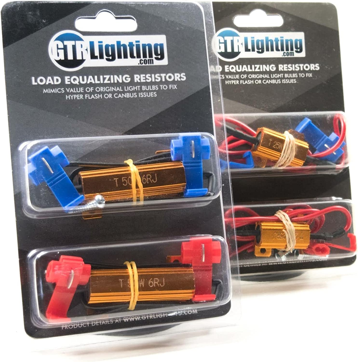 GTR Lighting Load Albuquerque Mall Resistor 50w 6ohm resistor LED Fashionable Turn sig for
