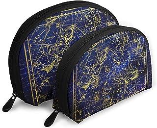 Constelación Perseo Andrómeda Bolsas portátiles Bolsa de Maquillaje