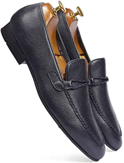 one8 Select Men's Blue Leather Shoe
