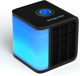 Evapolar evaLIGHT Personal Evaporative Air Cooler and Humidifier / Cleaner, Portable Air Conditioner, Black