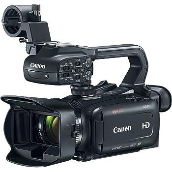 Canon XA15 Professional Camcorder, Black