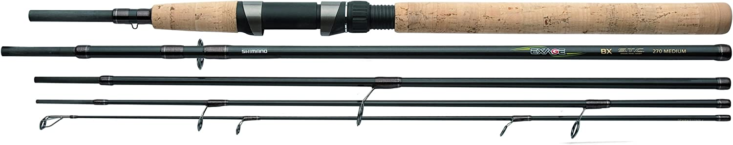 Shimano Exage BX STC Spinning 9 Feet Castingweight 1.75  3.50 ounce Travel Spinning Fishing Rod TEXBXS27XH5