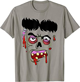 Zombie Face Costume T-Shirt