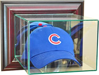 MLB Wall Mounted Cap/Hat Glass Display Case