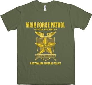 Mens T Shirt - Main Force Patrol Task Force - 8Ball Originals Tees