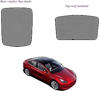 topfit Sunroof Sunshade Compatible Tesla Model 3 (2 of Set)