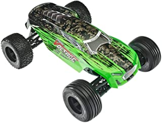 ARRMA FAZON VOLTAGE MEGA 2WD SRS RC Monster Truck RTR with 2.4GHz Radio | 2 x Li-Ion Battery | Charger | 1:10 Scale (Green/Black)