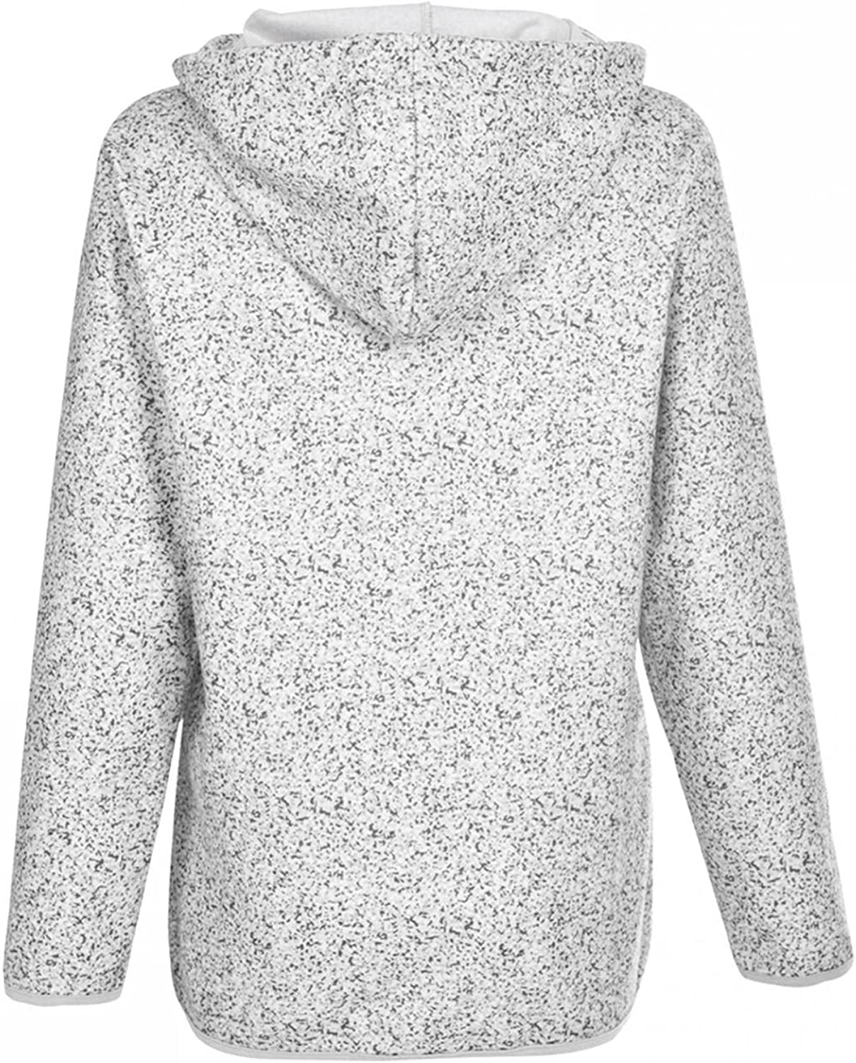 Toeava Hoodies for Women Sweatshirts Casual 1/4 Zip Up Drawstring Hooded Pullover Solid Long Sleeve Tops with Pocket
