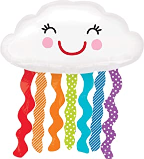 Anagram International 3123101 Rainbow Cloud Shop Balloon Pack, 30