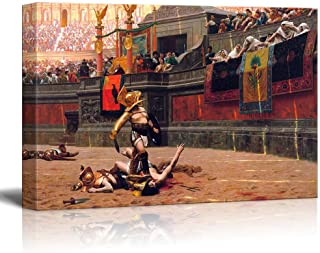 wall26 - Pollice Verso by Jean-Leon Gerome - Canvas Print Wall Art Famous Painting Reproduction - 24